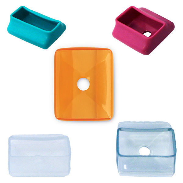 Square style retractor guards