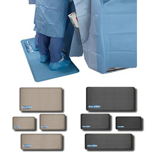 Cutting Edge Anti-Fatigue Mats Blue, Black, Tan (Taupe), Cutting Edge Medical Supply, LLC
